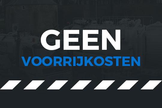Gerritsma Rioolservice - Geen voorrijkosten