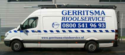 Gerritsma Rioolservice werkbus